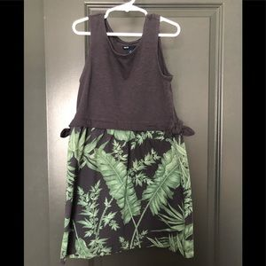 Girls jungle print dress